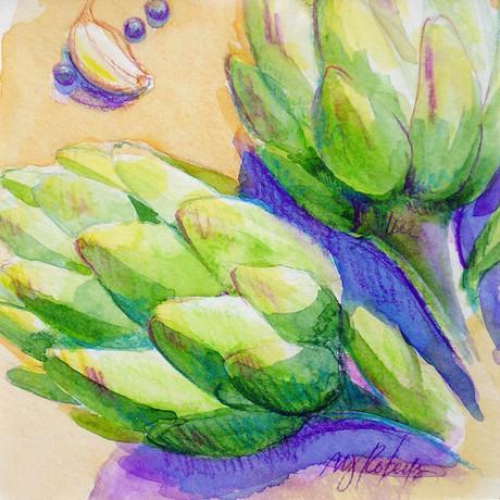 Artichokes & Garlic