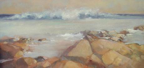 Rocky RI shore