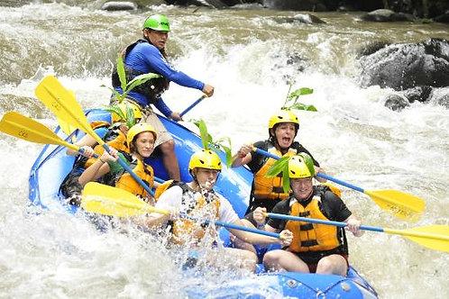 Rafting at Balsa River class III & IV