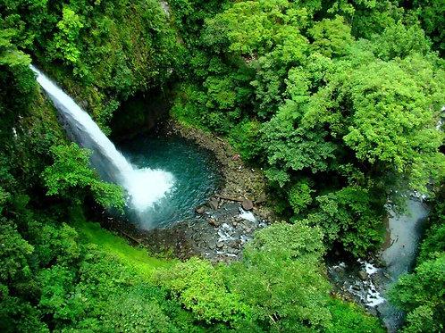Canopy Mundo Aventura Waterfall