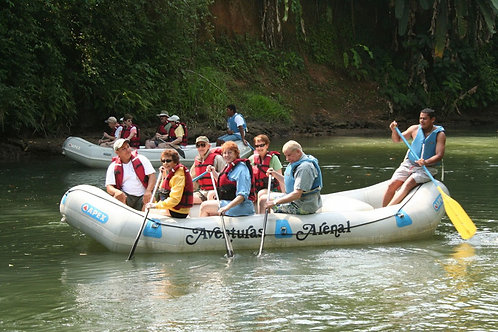 Safari FLoat at Peñas Blancas River