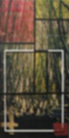 Fototrasnfer sobre dm. Acrílico. 60x30_Pau Cassany