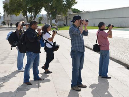 Aula Prática de Iniciação à Fotografia (Belém -Lisboa)