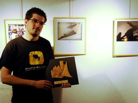 Ganador del Tercer Premio en el Concurso Fotográfico de Semana Santa