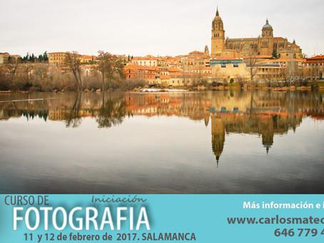 Curso de fotografía en Salamanca