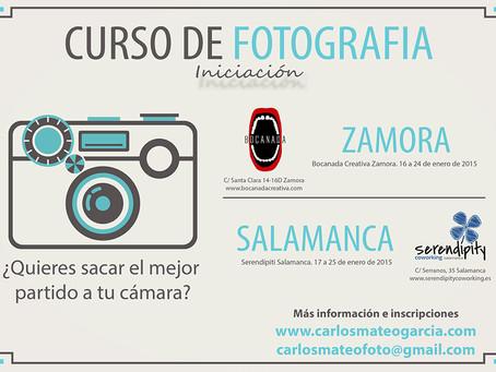CURSO DE FOTOGRAFÍA (iniciación)
