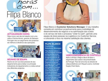 """Colaboración con la Revista """"Somos Danone"""""""