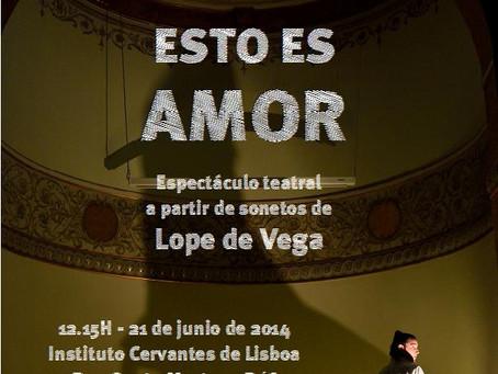 """Esto es Amor"" de Rubén Ajo no Instituto Cervantes de Lisboa"