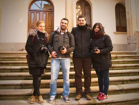 Making off del segundo fin de semana del curso de fotografia en Salamanca
