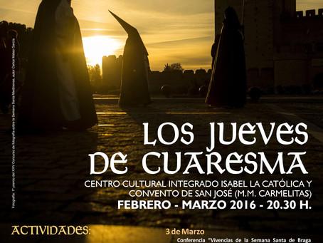 """Cartel """"Los Jueves de Cuaresma"""""""