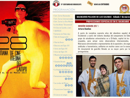 Misión: Sáhara en la 28 Semana de Cine de Medina del Campo