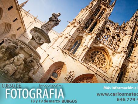Cursos de fotografía en Burgos