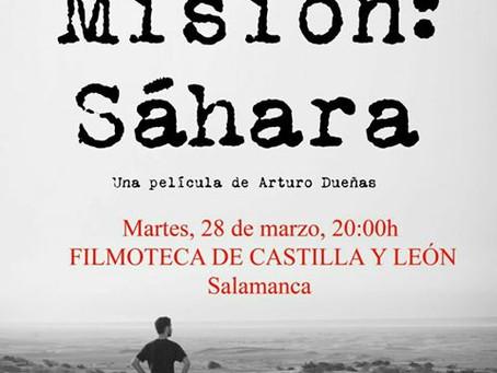 """""""Misión: Sáhara"""" en Salamanca"""