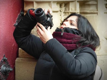 Making off del Curso de Iniciación de Fotografía en Salamanca