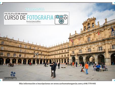 Curso de Fotografía en Salamanca (iniciación)