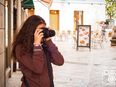 Segunda clase práctica del Curso de Fotografía de Burgos