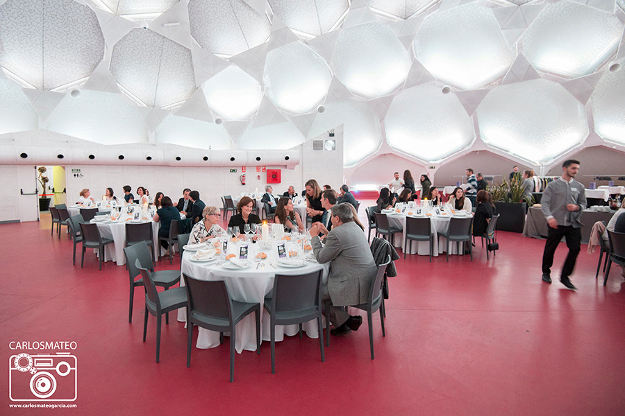 Cenas en la cupula del Milenio de Valladolid