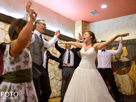 ¡Todo listo para un día de boda fantástico!