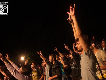 Concierto de Crossbones en la noche de San Juan 2015 de Valladolid