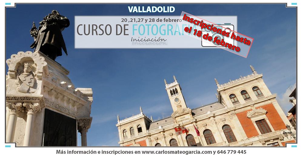 Curso de fotografía Valladolid