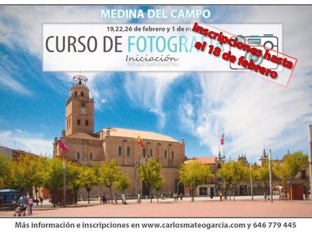 Curso de Fotografía en Medina del Campo (iniciación)