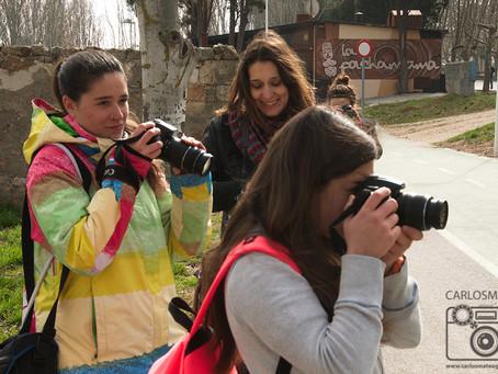 Primer fin de semana de Curso de Fotografía en Salamanca