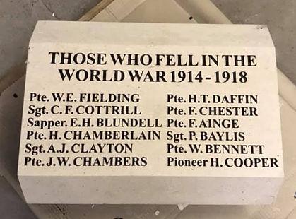 Those who fell