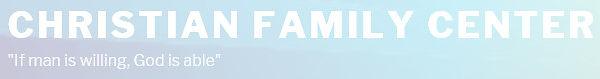 The Christian Family Center logo