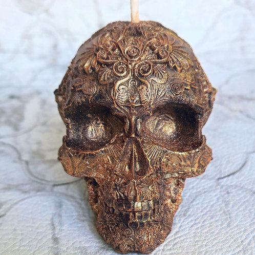 Skull with pattern