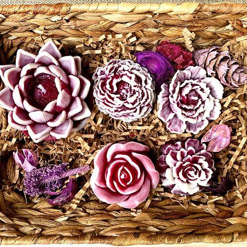 Flower fantasy (marble violet)