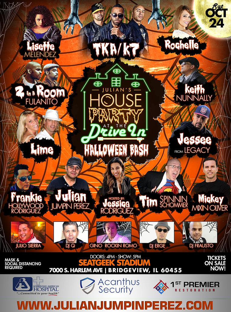 Flyer Halloween House Party 1 w:sponsors