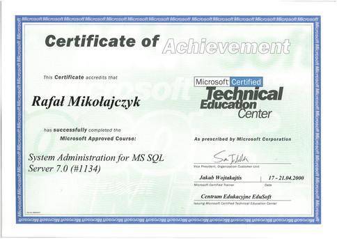 09.Certyfikat Microsoft SQL Server Administration.jpg