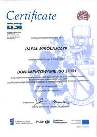 03.Certyfikat BSI Dokumentowanie ISO 27001.jpg
