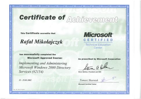 12.Certyfikat Microsoft Active Directory Services.jpg