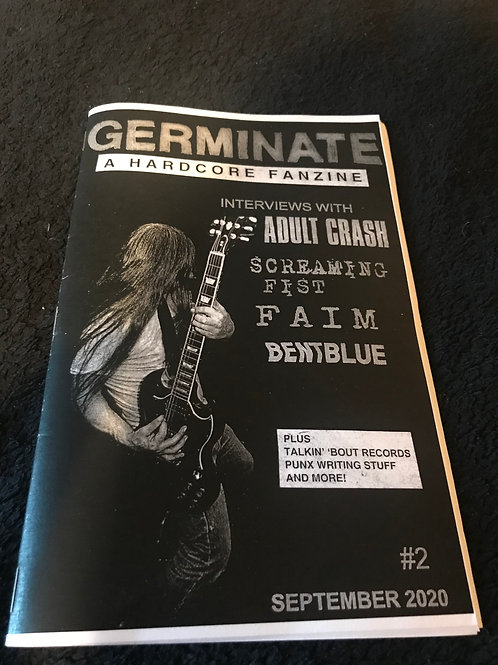 Germinate #2 - A Hardcore Fanzine
