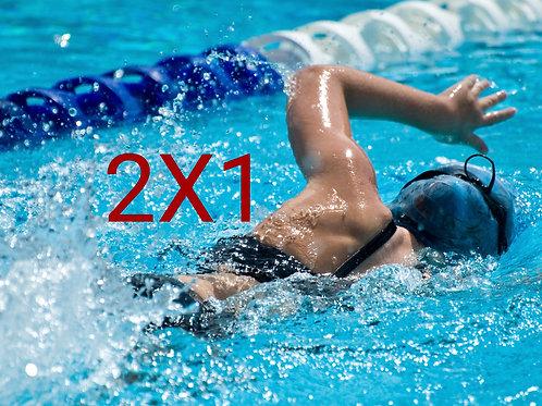 Clases de natación con tecnología en Barcelona