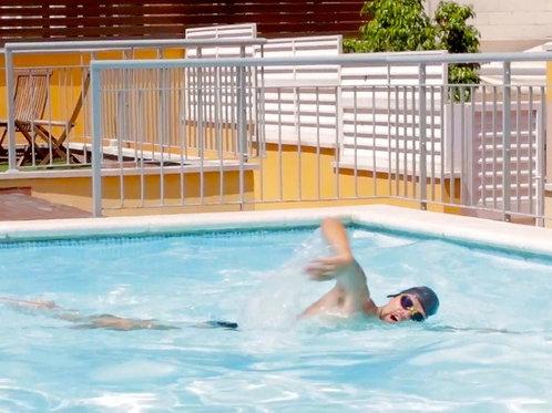 clases de natación estática Barcelona