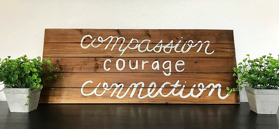 Office Photo - courage, compassion, conn