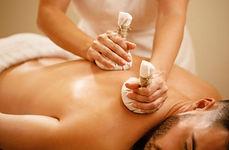 Kräuterstempel - Massage