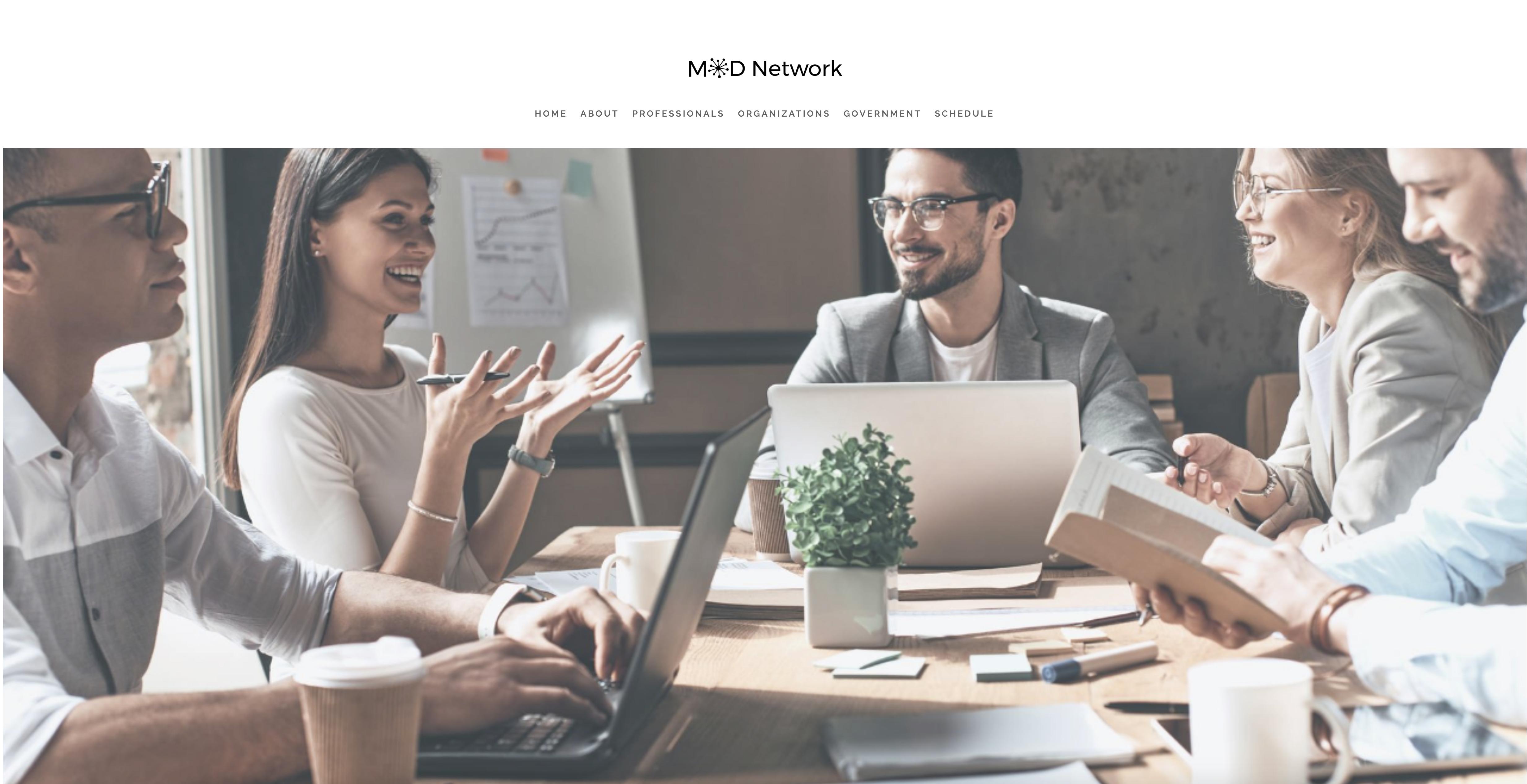 ModNetwork Website - Executive Coaching