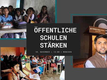 Vortrag: Mehr Bildungsgerechtigkeit - Öffentliche Schulen in Indien stärken