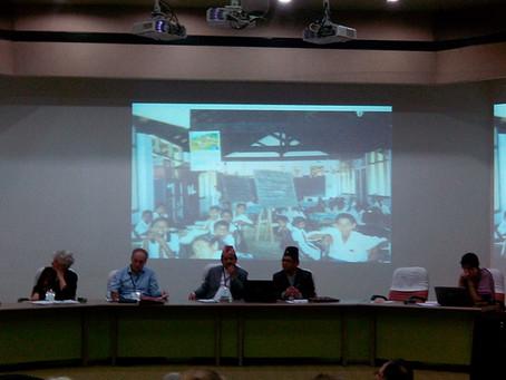 1. MultiGradeMultiLevel-Welt-Konferenz in indischem Chennai und Vorprogramm im Rishi Valley besucht