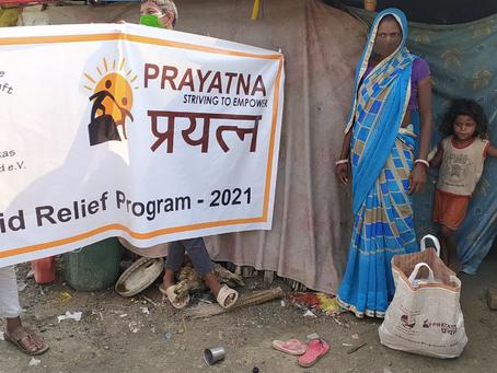 Nothilfe erreicht Dorfbevölkerung und Gesundheitssektor