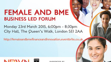 Challenge of Finance & Innovation: Past, Present and Future - NBWN @ City Hall MAR 2015