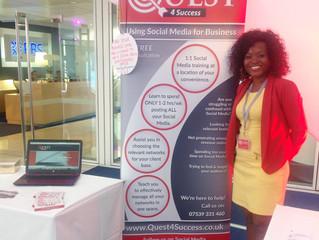 Quest4Success showcase @ RBS, Bishopsgate and visiting YBC Mega Networking event JUL 2015