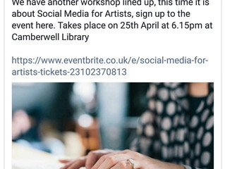 Quest4Success Guest Speaker @Camberwell Arts - Social Media for Artists