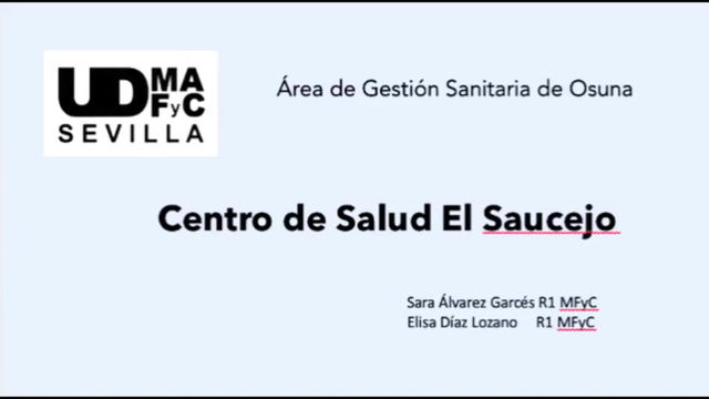 Centro de salud El Saucejo - AGS Osuna