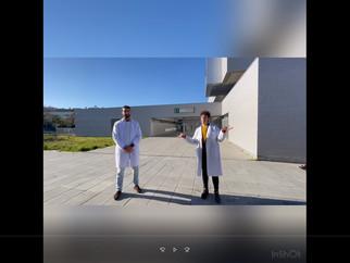 Visitando el centro de salud Clara Campoamor - Distrito Aljarafe