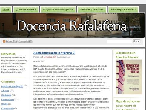 Blog recomendado: Docencia Rafalafena