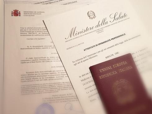 Guía para no perder TU plaza MIR, para ciudadanos Europeos
